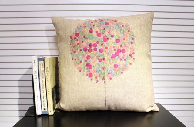 home cushion, linen pillow,  nordic style, IKEA, cotton cushion, balloon