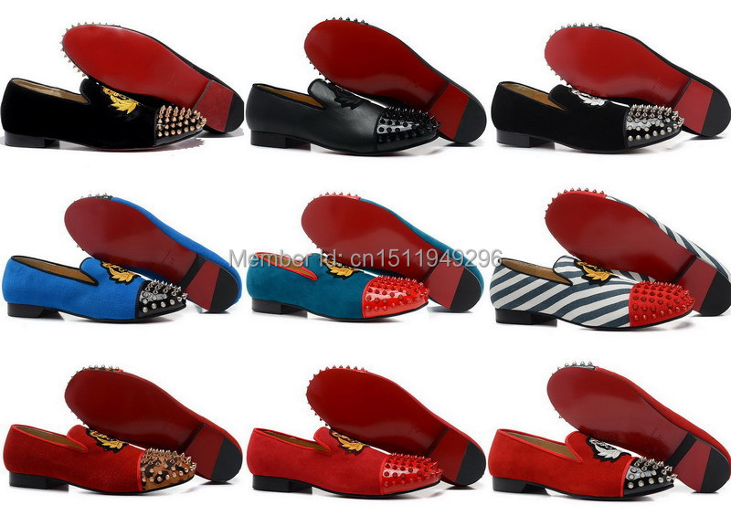 replica christian louboutin - Aliexpress.com : Buy mens leopard print loafers red bottom shoes ...