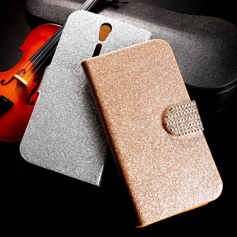 PU Leather Flip Case Bling Diamond Phone Case Cover Sony Xperia S Lt26i 4.3inch SL Lt26ii Wallet Phone Case Glitter Holster