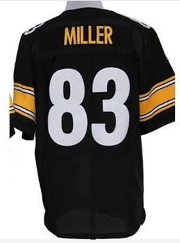 #83 Heath Miller Jersey,Elite Football Jersey,Best quality,Authentic Jersey,Size M L XL XXL XXXL,Accept Mix Order