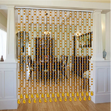 Modern Luxury Crystal  Beaded Curtain Countryside Style Modern Living Room Curtain Crystal Window Curtain(China (Mainland))