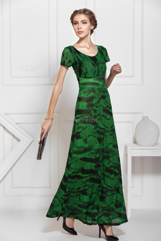 Green Holiday Dress