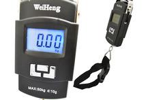 Nuevo 50 kg / 10 g pantalla LCD portátil Digital electrónica del peso del equipaje gancho escala envío gratis