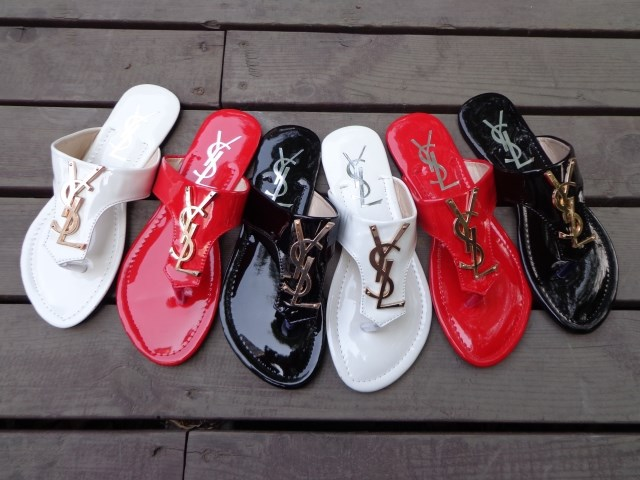 Summer 2014 women patent leather flip flops sandals - Fashion Tribe 0001 store