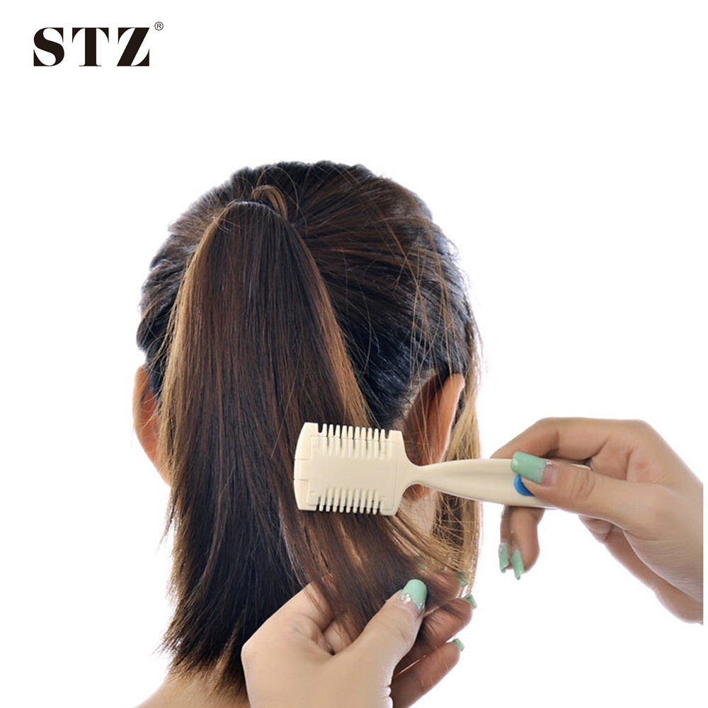 Buy Pro DIY Hair Beauty Styling Tools Trimmer Razor Blade Comb Hair ...