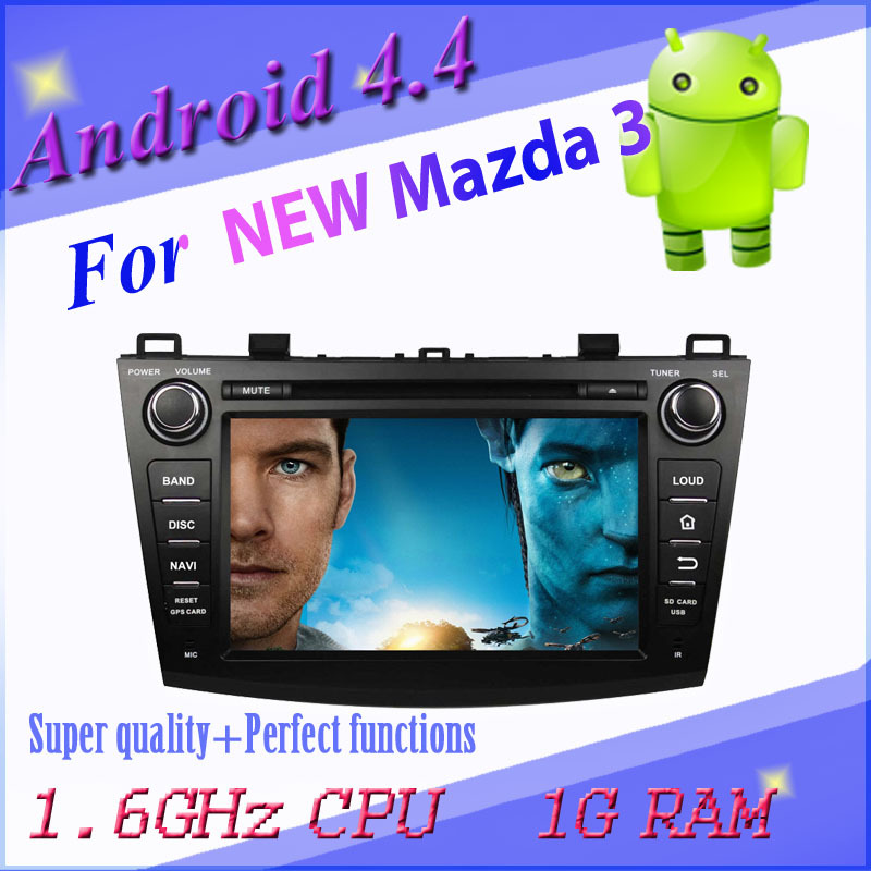 1024*600 capacitive screen Android car DVD MAZDA 3 3g wifi gps navigation radio bt map - All real photo all selected products shop store