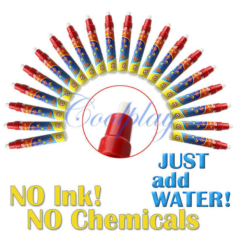 Free shipping 20pcs/Lots Magic water Pen/ American Aquadoodle pen/ doodle pen(China (Mainland))
