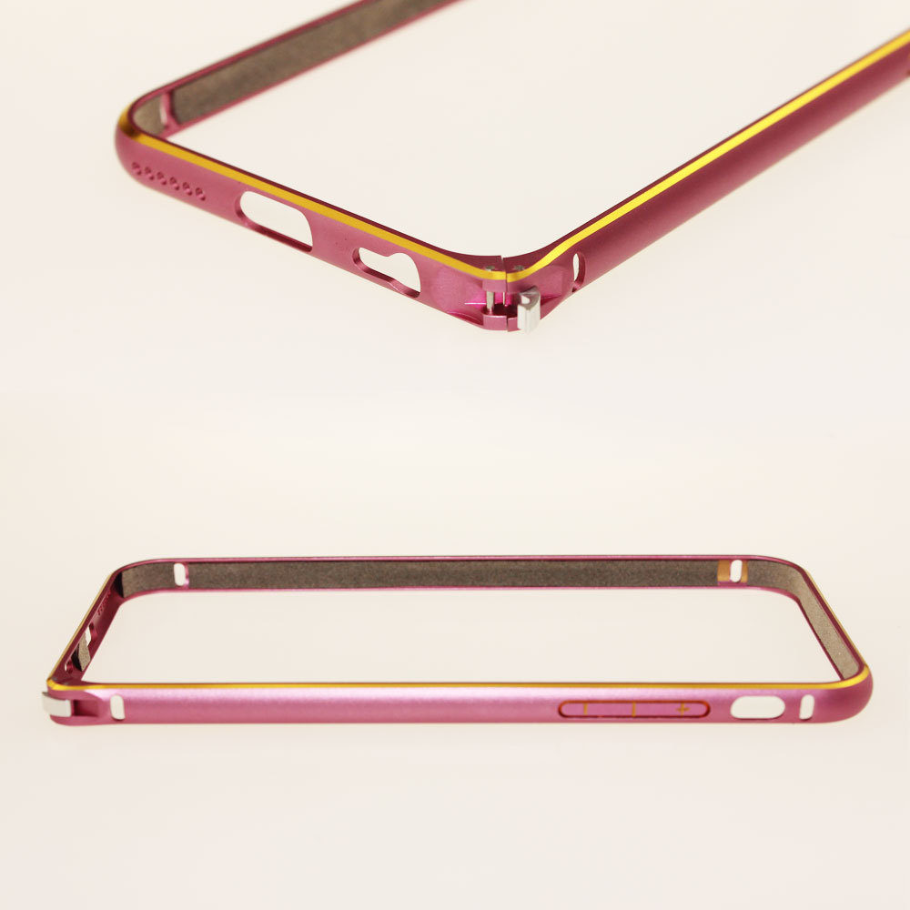Pcs Metal Cool Business Bumper For Man For Apple Detachable Phone Cases For iPhone6 Plus 5.5 inch Brand Cell Phone Accessories(China (Mainland))