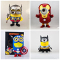 Free Shipping Despicable Me Thor Huang human milk dad Minion PVC Action Figure Toy Doll Iron