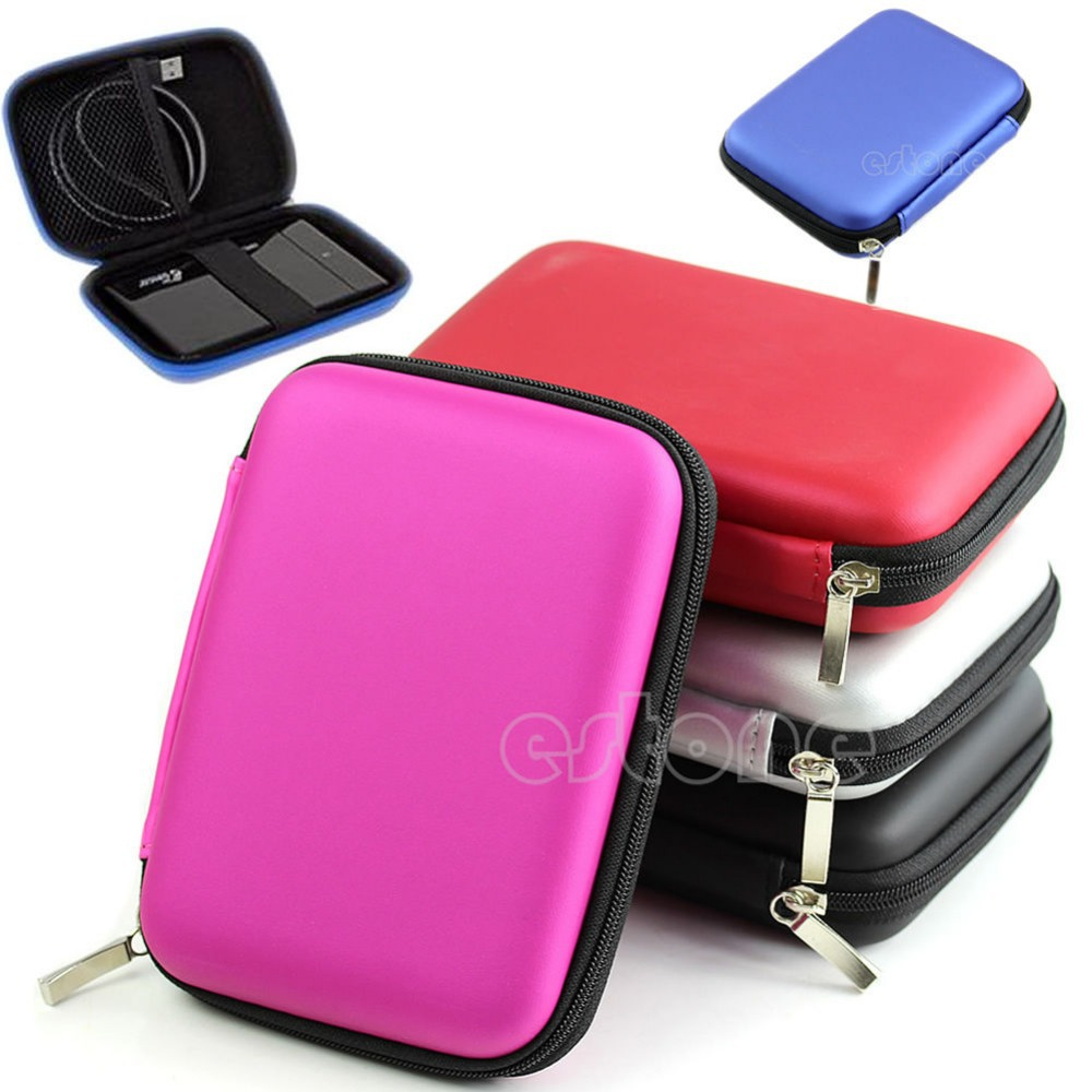 """Hand Carry Case Cover Pouch for 2.5"""" USB External WD HDD Hard Disk Drive Protect(China (Mainland))"""