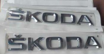 VW Original Rear Trunk Lid Emblem Badge Decal Inscription Sticker For Skoda32D 853 687 A