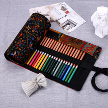 Buy 2017 High School Stationary Students Pencil Case Creative Nation Style Pencil Pouch Colored Roll Curtain Storage Canvas for $8.16 in AliExpress store