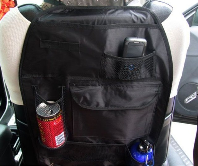 Car multi Pocket Storage Organizer Arrangement Bag of Back seat of chair - Free shipping #A0024