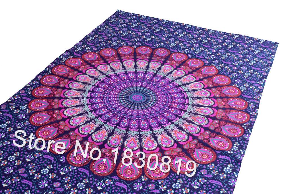Mandala wall hanging tapestry hippie bed sheet bohemian bedding