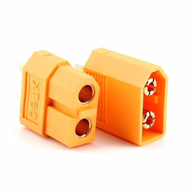 20pcs XT60 XT-60 XT 60 Plug Male Female Bullet Connector Plug For RC Lipo Battery Quadcopter Helicopter