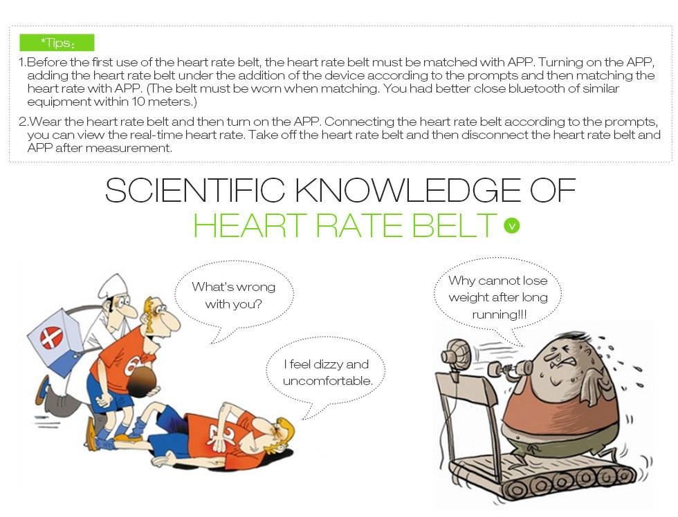 EZON работает сердцебиение с сердечного ритма при интенсивном открытый спортивные часы часы сердечного ритма сердечных сокращений измерения инструмент E1
