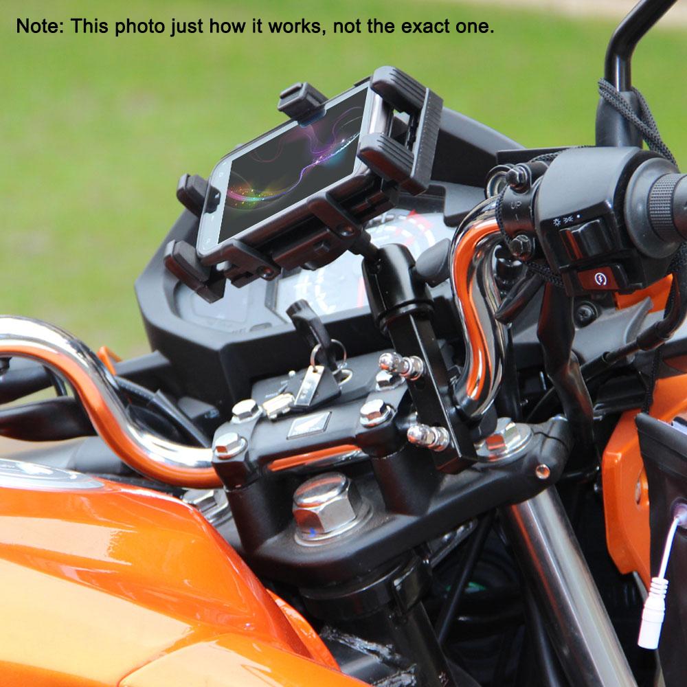 Professional Motorcycle Large Screen Phone/GPS Navigator Holder Shock Resistant Motorbike/Bike/Scooter/ATV Stand Mount Bracket(China (Mainland))