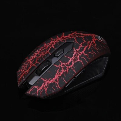 Newest Creative Brand 3200DPI 6D Crack Silent Gaming Mouse 10M USB Optical Wrieless Mouse Mice For Gamer Computer Tablet PC Gift(China (Mainland))
