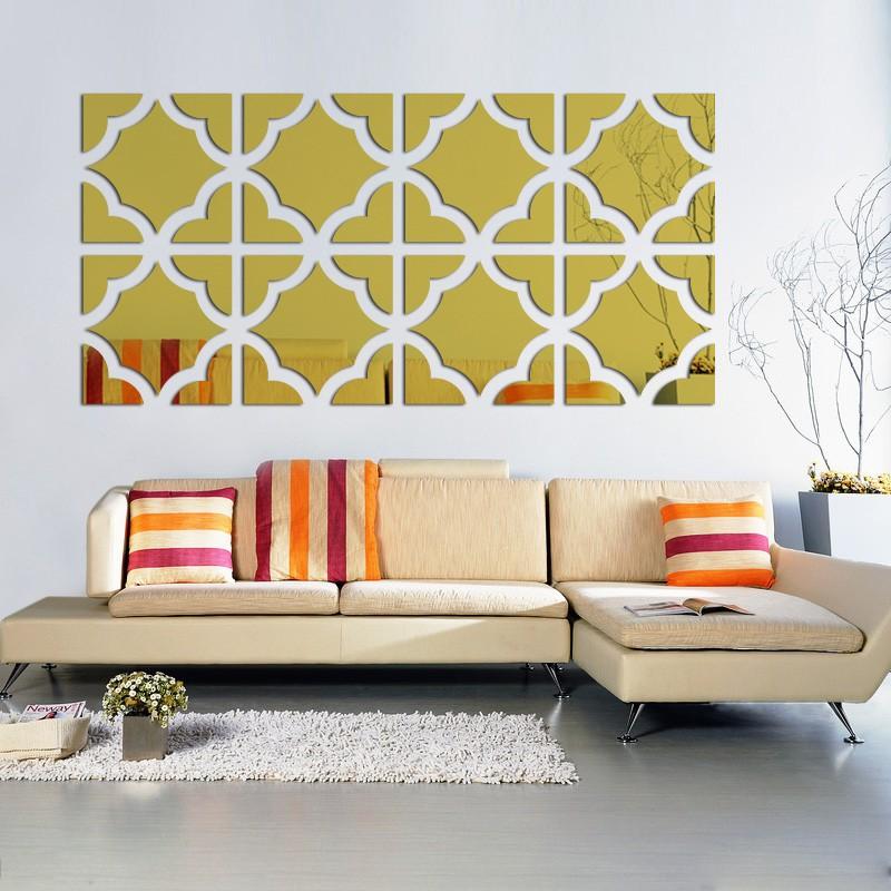 Buy Wall Stickers Home Decor Diy 3d Mirror Wall Sticker Adesivo De Parede