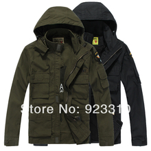 military uniform Men's outdoor winter jacket windbreaker military version of commando tactics cotton fleece windbreaker(China (Mainland))