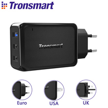 Buy 3 Ports Tronsmart W3PTA Quick Charge 3.0 USB Charger VoltiQ Tech Xiaomi LG G5 Fast Phone Charger Adapter EU US UK for $20.35 in AliExpress store