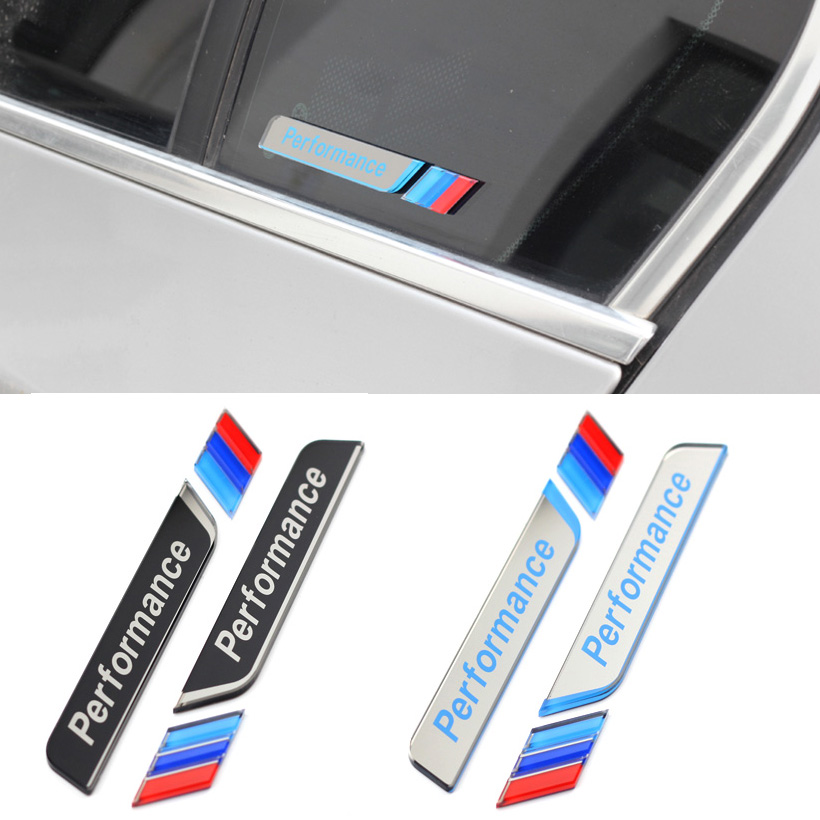 2x Styling M Performance Car Window Decorative Sticker