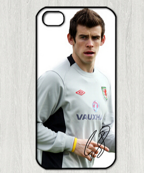 custom printed cell phone case cover skin Shell for iphone 4 case, Gareth Frank Bale signed-4 Phone Cases(China (Mainland))