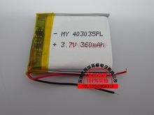 403035 3,7 В литиевая полимер аккумулятор жестяная банка питания IC большие ценовые преимущества голосов ндс