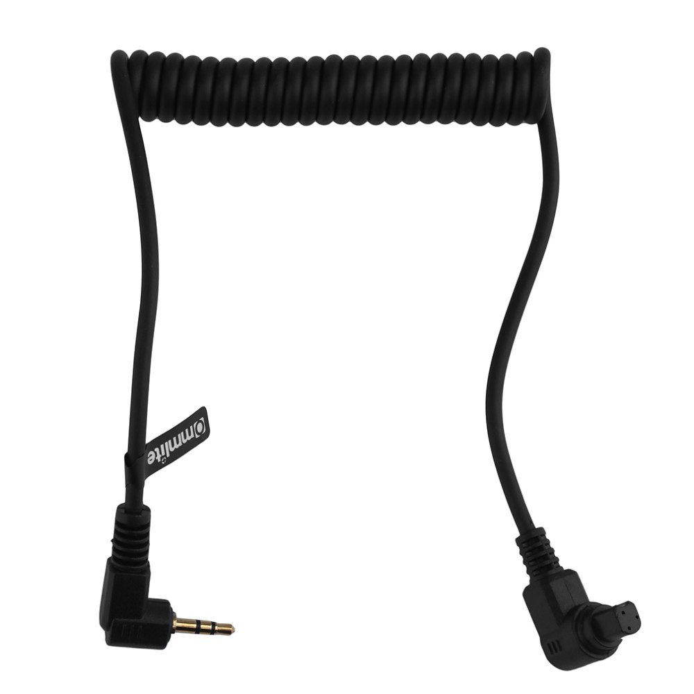 image for New 2.5mm 3C Remote Switch Shutter Release Cable For Canon EOS 6D 7D 5