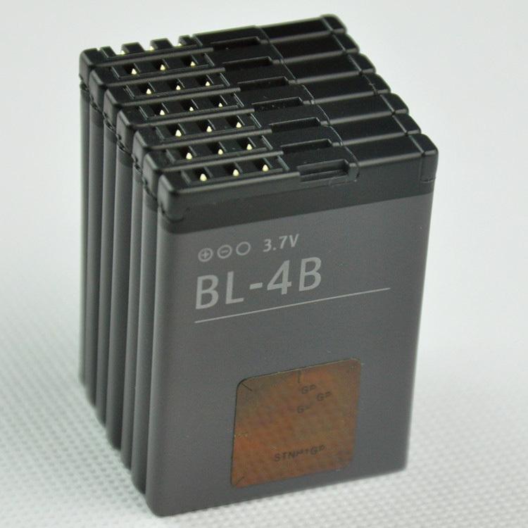 High Quality 700mAh BL 4B bl 4b Battery Mobile Phone Battery for Nokia 6111 7370 7373