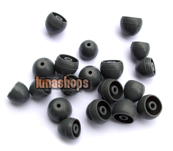 Replacement Earcaps Earbuds tips for SHURE E3C E4c E5c SE530 SE535 SE115(China (Mainland))