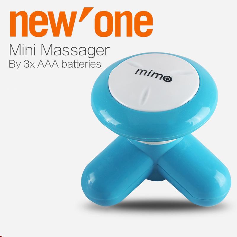 2016 Head Massager Mini Electric Handled Wave Vibrating Massager head massager Battery Full Body Massage(China (Mainland))