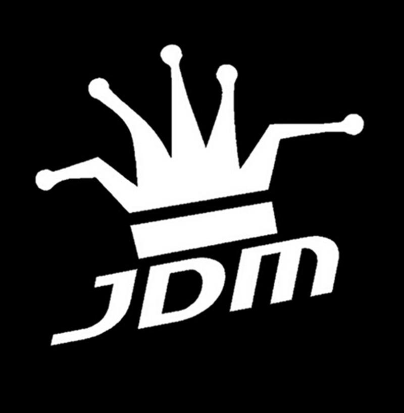 Funny JDM King Reflective Vinyl Sticker For Car Truck Window Bumper Drift(China (Mainland))
