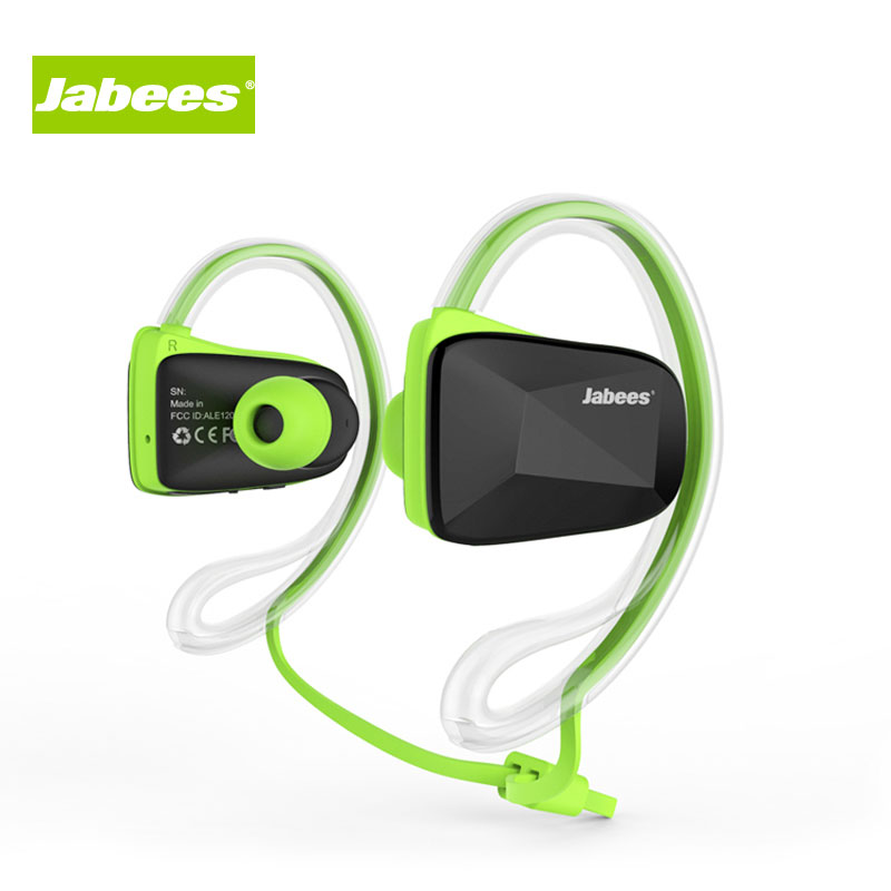 Jabees BSport Bluetooth V4.1 Sweatproof Waterproof Sports Stereo Headphones with NFC ATPX for Running Jogging and Earhook<br><br>Aliexpress