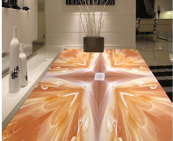 Custom photo floor wallpaper 3d stereoscopic 3d love for 3d marble wallpaper