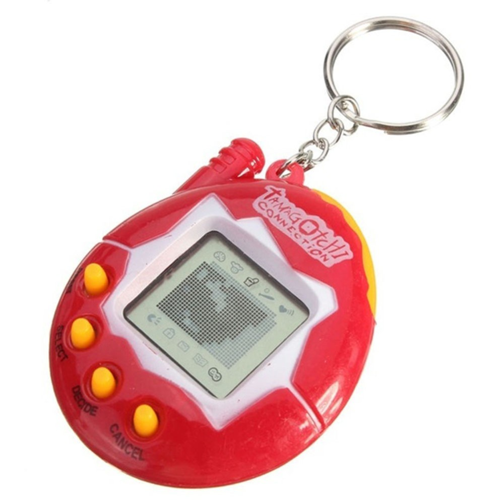 4 Colors 49 Virtual Cyber Digital Pets Electronic Tamagochi Pets Retro Game Funny Toys Handheld Game Machine For Gift