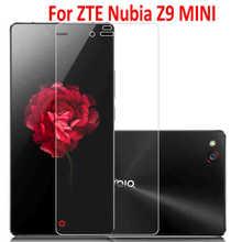 9H Protective Film for ZTE Nubia Z9 mini Z9mini Tempered Glass Screen Protector for ZTE Nubia Z9 mini Z9mini 5″ +safe package