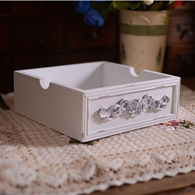 Armario Herramientas Ikea ~ Zakka grocery Box White Wooden European desktop clutter sorting box Jewelry Wooden Box Free