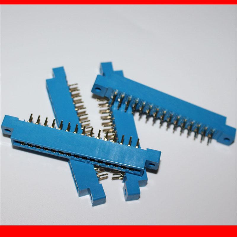 30pcs/Lot 805 Card Edge Connector 3.96mm Pitch 2x15 Row 30 Pin PCB Slot Solder Socket SP30 Dip Soldering-Block Type(China (Mainland))