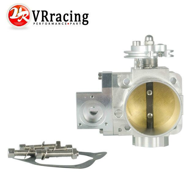 VR RACING-FREE SHIPPING NEW THROTTLE BODY FOR EVO 4G63 70mm CNC Intake Manifold Throttle Body evo7 evo8 evo9 4g63 turbo VR6948
