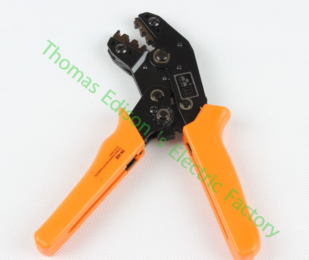 SN-48B MINI EUROP STYLE crimping tool crimping plier 0.5-1.5mm2 multi tool tools hands(China (Mainland))