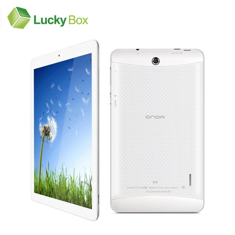 7 Inch Onda V719 3G Quad Core Phone Call Tablet PC Android 4.2 MTK8321 2MP 1024*600 1GB RAM 8GB ROM Bluetooth GPS OTG(China (Mainland))