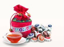 Do Promotion  Hot,Chinese tea 50pieces/bag Different Flavors Yunnan Puer Tea Mini Puer,with a gift bag