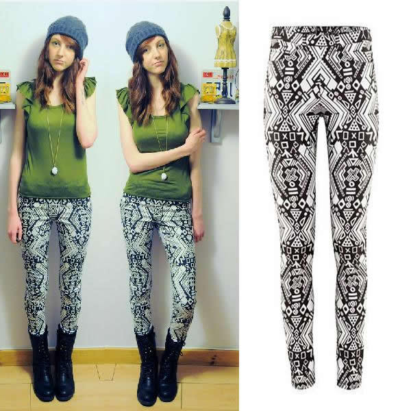 printed pants women - Pi Pants