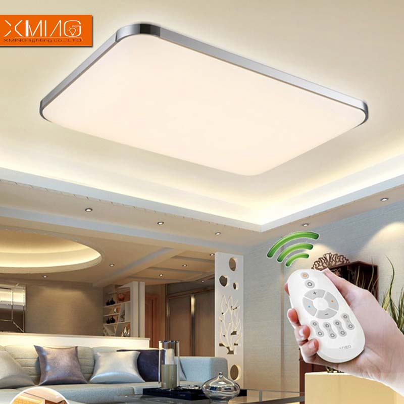 Ceiling lights modern led ceiling lights for living room bedroom Remote control switch cool or warm white ceiling lamp fixture <br><br>Aliexpress