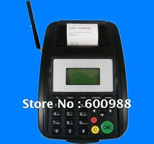 Restaurant GPRS SMS Printer, hotsell in 2011. Check and print out orders in printer, accept custom language and firmware!(China (Mainland))