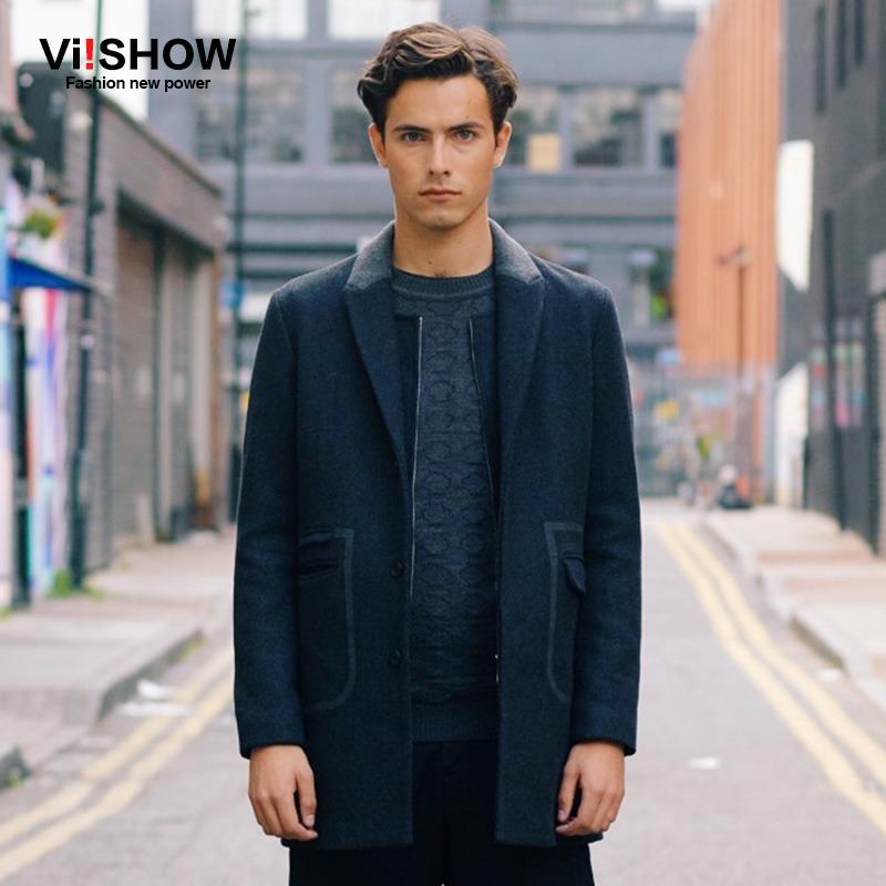 VIISHOW veste homme 2015 Winter jacket men Wool Coat Slim Fit Single-Breasted Outdoor Coat Mens Overcoat for Men Одежда и ак�е��уары<br><br><br>Aliexpress