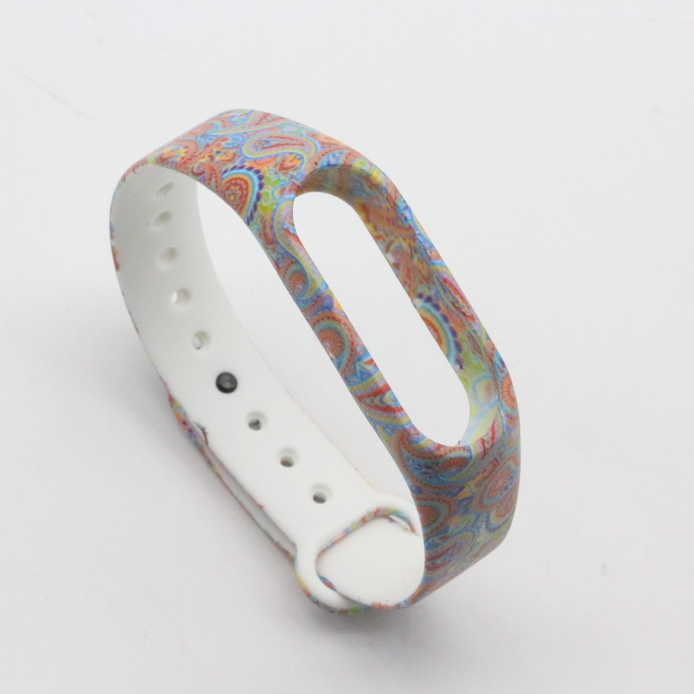 (XM2HS) SMP-0059 Replace Strap for Xiaomi Mi Band 2,Silicone Wristbands for Mi Band 2 Accessories