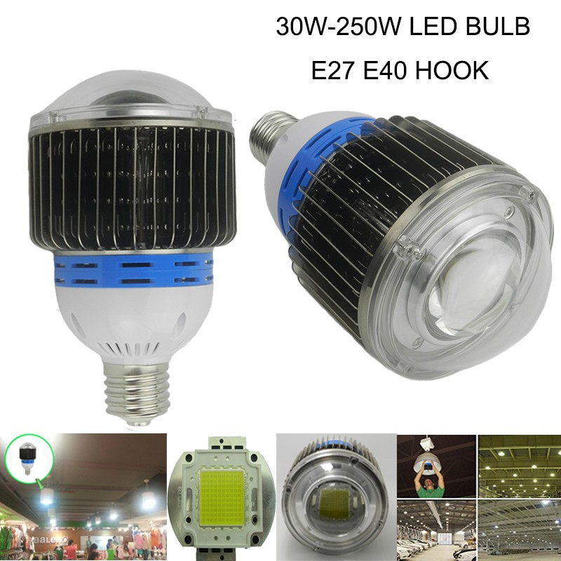 30w 50w 60w e27 e40 led bulb 100w 120w 150w 200w 250w led high bay light bulb for industry,facotry,warehouse,supermarkets bulb<br><br>Aliexpress