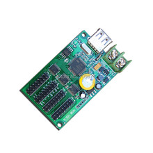 Async usb-disk HC-1 full color LED Display controller,192 x128, 384x64 Support, 4 xhub75 design for small RGB led display(China (Mainland))